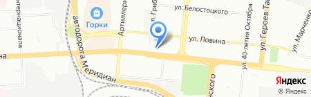 ВЕРЕС ТУР на карте Челябинска