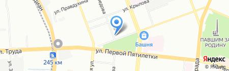 АМС на карте Челябинска