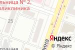 Схема проезда до компании Социальная химчистка в Челябинске