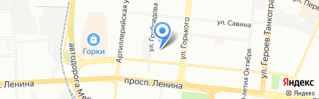 Гарант Челябинск на карте Челябинска