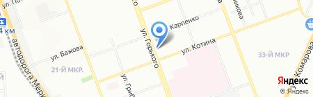 Наркомед на карте Челябинска