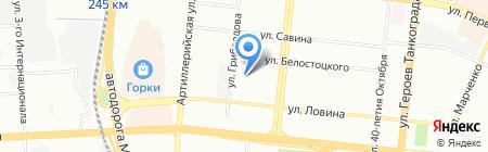 Татьяна на карте Челябинска