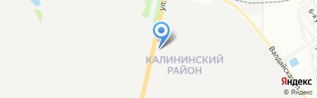 Лада-Нива на карте Челябинска