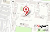 Схема проезда до компании Волшебная Радуга в Челябинске