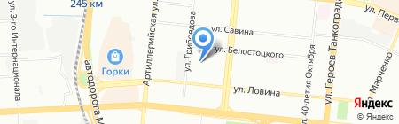 Интех на карте Челябинска