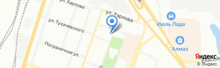 Таймень на карте Челябинска
