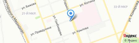 Пожарная часть Тракторозаводского района на карте Челябинска