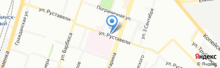 Электроцентр на карте Челябинска