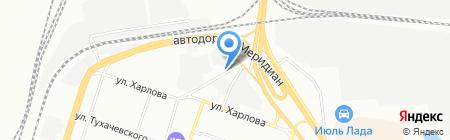 Объединенные автомобильные салоны на карте Челябинска