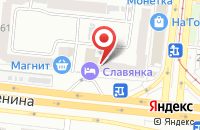 Схема проезда до компании Лангуст в Челябинске