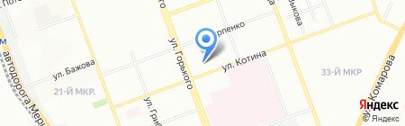 Детский сад №76 на карте Челябинска