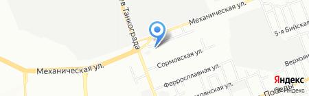Рублёвский на карте Челябинска
