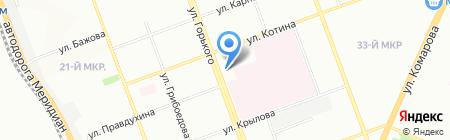 Надёжные насосы на карте Челябинска
