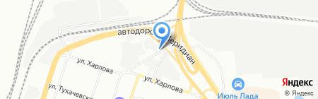 Авик на карте Челябинска