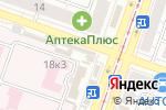 Схема проезда до компании Уральская метелица в Челябинске