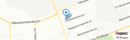 Лига Урал на карте Челябинска