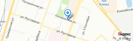 Мастерская по ремонту обуви на ул. Гагарина на карте Челябинска