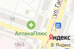 Схема проезда до компании Оптика в Челябинске