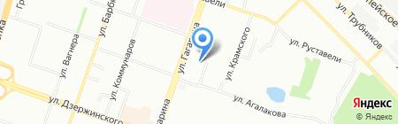 Детский сад №402 на карте Челябинска