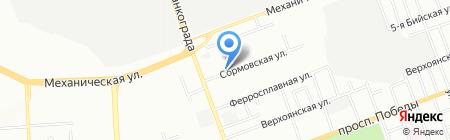 БАИТ на карте Челябинска