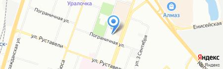 Детский сад №91 на карте Челябинска
