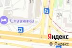 Схема проезда до компании Ваши деньги в Челябинске