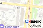 Схема проезда до компании Таврия в Челябинске