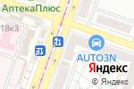 Схема проезда до компании ДельтаМедика в Челябинске