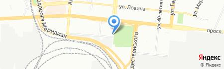 Пчелка на карте Челябинска