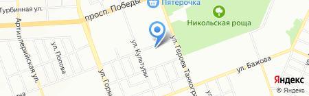 Продуктовый магазин на ул. Потемкина на карте Челябинска