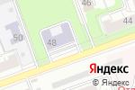 Схема проезда до компании Центр детского творчества Тракторозаводского района в Челябинске