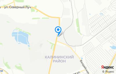 Местоположение на карте пункта техосмотра по адресу г Челябинск, ул Героев Танкограда, д 61П