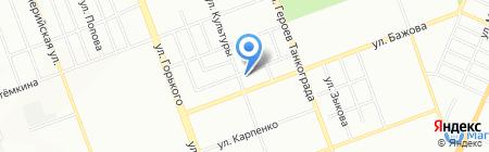 Инженерные системы безопасности на карте Челябинска