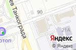 Схема проезда до компании Единая служба геодезии и картографии в Челябинске