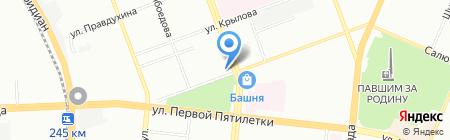 Душа пивовара на карте Челябинска