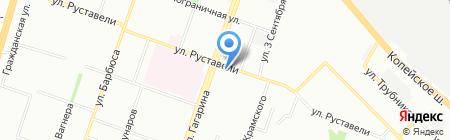 Вертикаль-Family на карте Челябинска