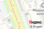 Схема проезда до компании Торговая фирма в Челябинске