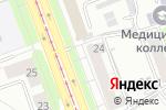 Схема проезда до компании Копицентр в Челябинске