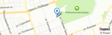 Главторг на карте Челябинска