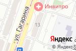 Схема проезда до компании Золотая рыбка в Челябинске