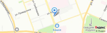 Авто+ на карте Челябинска