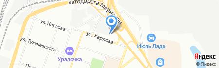 УралРемЖилСтрой на карте Челябинска