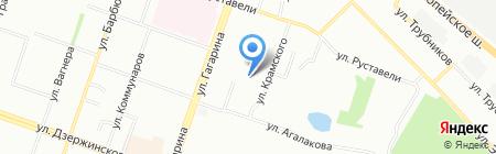 Альтернативное отопление на карте Челябинска