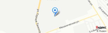 ЖБИ-Восток на карте Челябинска