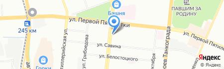 Ассорти на карте Челябинска