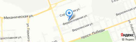 Анютка на карте Челябинска