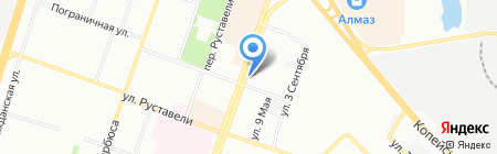 Акцепт+ на карте Челябинска