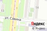 Схема проезда до компании Рубиком Групп в Челябинске