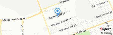 Автолидер74 на карте Челябинска