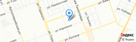 Детский сад №90 на карте Челябинска